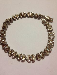 Gucci Sterling Bracelet Milor Italian Silver 7.25 by BargainBitz