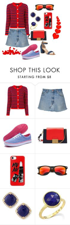 """Casual"" by megeller ❤ liked on Polyvore featuring Rossella Jardini, Dream Seek, Mulberry, Casetify, Frederic Sage, Marco Bicego and Neiman Marcus"