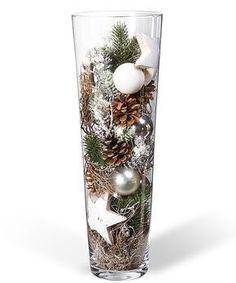 Kugelvase Anticipation – order now from Valentins - Weihnachten Christmas Vases, Christmas Centerpieces, Xmas Decorations, Winter Christmas, Christmas Home, Merry Christmas, Valentine Decorations, Holiday Crafts, Holiday Decor