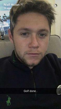 Niall Horan on snapchat 11/5/16