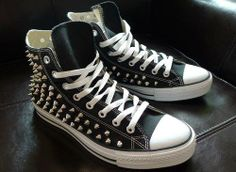 All Star Converse. Studded.