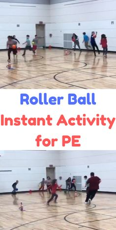 "Hi, I'm Frank Petras and I'm excited to talk about an activity I came up with last year called ""Roller Ball"". I've always been a big proponent of finding new and creative instant activities for my students. Activities that require … Read Physical Education Activities, Elementary Physical Education, Elementary Pe, Pe Activities, Team Building Activities, Health Education, Movement Activities, Science Education, Special Education"