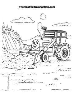 Thomas the Tank Engine Coloring