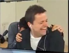 Ant and Dec laughing their heads off! you cant help but smile Saturday Night Takeaway, Declan Donnelly, Ant & Dec, Britain Got Talent, Tv Presenters, Judges, Ants, Pj, Laughing