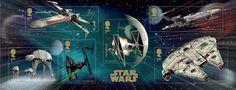 Star Wars stamps (UK)