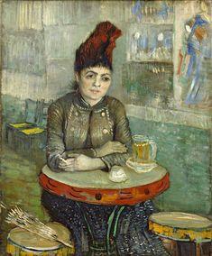 Vincent van Gogh - In the café - Agostina Segatori in Le Tambourin -