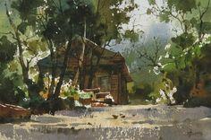 Акварели Chien Chung Wei | World of Art
