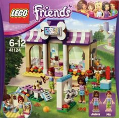 Lego Friends Vet Puppy Daycare $35 ~ Lego Friends summer 2016 sets