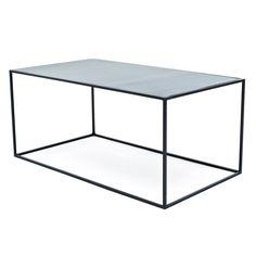 Flatiron-Wrought Cube Coffee Table