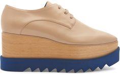 Shop Now - >  https://api.shopstyle.com/action/apiVisitRetailer?id=628891430&pid=uid6996-25233114-59 STELLA MCCARTNEY Elyse lace-up platform shoes  ...