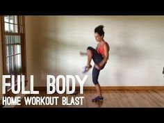 Full Body Home Workout Blast - YouTube