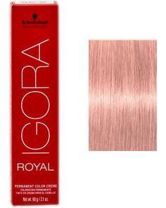 schwarzkopf professional schwarzkopf professional igora royal hair color 95 18 rose from sleekhair - Coloration Igora Royal