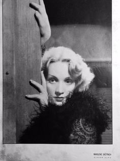 """The Japanese movie magazine """"EIGA NO TOMO"""" ( The friends of Movies) was published in June 1932, featuring Marlene Dietrich at the one of the front pages."""