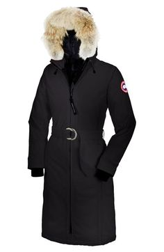 Canada Goose chilliwack parka replica price - CANADA GOOSE 'Kensington' Slim Fit Down Parka With Genuine Coyote ...