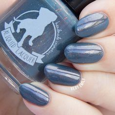 Mercy Mastery Mystery 5 ml mini blue-grey with by ALIQUIDLacquer