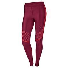 c3ae32dfb4852d Nike Women s Power Speed Running Tights - Red Light Crimson