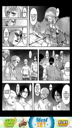 Reiner and christa <3 Attack on titan