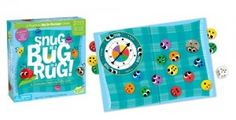 Snug as a Bug in a Rug and thousands more of the very best toys at Fat Brain Toys. Cute bugs teach color, shape, number and size concepts. A delightful cooperative board game for non-stressful play situations. Snug as a Bug in. Games For Little Kids, Preschool Board Games, Cooperative Games, Teaching Colors, Classic Board Games, Thing 1, Indoor Games, Family Game Night, First Game
