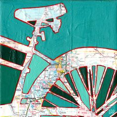 Bike Seattle Art Print (Cool Paintings With Quotes)