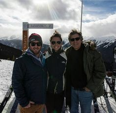 Paul with his son Jake in Aspen