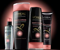 FREE L'Oreal Ultimate Straight Hair Care Sample