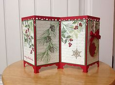 Christmas-card-kit-screen-divider-pines-holly-made-with-Stampin-Up-produ