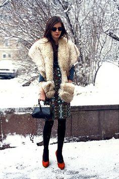 Vintage From Paris Fur, #ChristianLouboutin @HeeledShoes