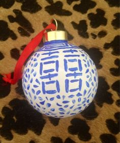 Ginger jar ornaments // Xo Lindsay: Scenes From The Weekend