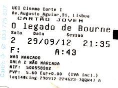 """Cinema: """"O Legado Bourne"""" (Bourne Legacy"""" @ UCI, Lisboa, a 29 de Setembro de 2012."""