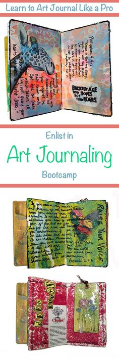 Learn to Art Journal Like a Pro with Dr. Debbie's 6 - Part Video Series. DIY Art Journaling for all skill levels from Beginner to Expert, everyone can learn from her techniques and insights.
