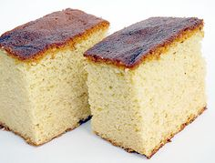 Japanese sponge cake - Kasutera - what an interesting technique!