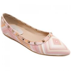 34.62$  Buy here - http://diglx.justgood.pw/go.php?t=171336002 - Fresh Style Color Block and Rivets Design Flat Shoes For Women