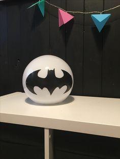Ikea Fado Batman lamp #ikeahack