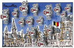 Plantu (2015-11-24) Bruxelles état de siège