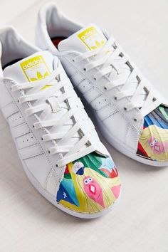 adidas Originals X Pharrell Superstar Supershell Todd James White Sneaker