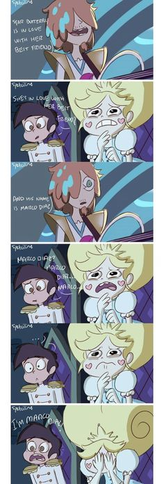"My oblivious cinnamon roll. ""WAIT IM MARCO DIAZ"" 