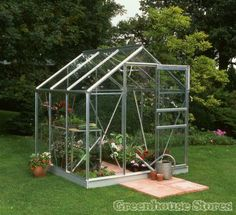 Aluminium Greenhouses - Greenhouse Stores