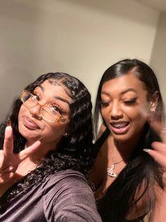 Bff Goals, Best Friend Goals, Squad Goals, Best Friend Outfits, Girls Best Friend, Fille Gangsta, Pretty Black Girls, Black Girl Aesthetic, Cute Friends