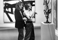 Diane Keaton and Woody Allen in Manhattan. 1979. USA. Directed by Woody Allen