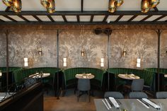 Jue Lan Club (New york, United States), The Americas Restaurant | Restaurant & Bar Design Awards