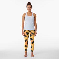 Floral Leggings, Colorful Leggings, Halloween Patterns, Best Leggings, Leggings Fashion, Chiffon Tops, Tartan, Shirt Style, Classic T Shirts
