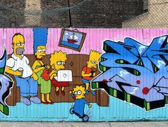 Work by @samsuremusic and @ante_ltd  London UK . . #samsure #samsuremusic #ante #ante_ltd #thesimpsons #shoreditch #bricklane #hackney #eastlondon #london #shoreditchstreetart #londonstreetart #streetartlondon #londongraffiti #streetart #graffiti #art #artwork #tv_streetart #dsb_graff #dopeshotbro by d7606