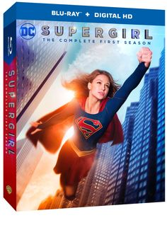 """June 2 2016: Press Release - """"Supergirl: The Complete First Season"""" on Blu-ray..."""