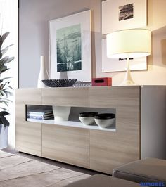 Living Room Colors, Living Room Modern, Interior Design Living Room, Living Room Designs, Living Room Decor, Cabinet Furniture, Dining Room Furniture, Furniture Design, Buffet Original