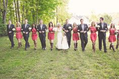 Autumn Woodland Wedding by Rustic Charm and Amie Schroeder Photography - Project Wedding Blog