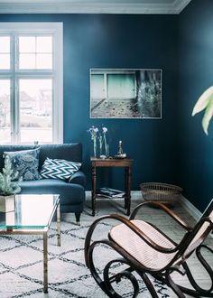 Hemma hos mig | Krickelin | Bloglovin' Decorating Blogs, Home Living Room, Interior Design, House, Furniture, Uppsala, Indigo, Home Decor, Colorful