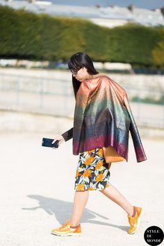 Susie Bubble Susanna Lau Style Bubble Street Style Street Fashion Streetsnaps by STYLEDUMONDE Street Style Fashion Blog