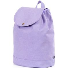 Herschel Supply Co Reid Backpack ($66) ❤ liked on Polyvore featuring bags, backpacks, electric lilac cross, herschel supply co bag, purple bag, stripe bag, rucksack bag and striped backpack