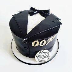 james bond inspired cake