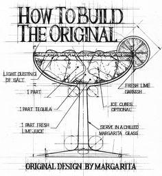 Jonathan Wright Technical Drawings Margarita